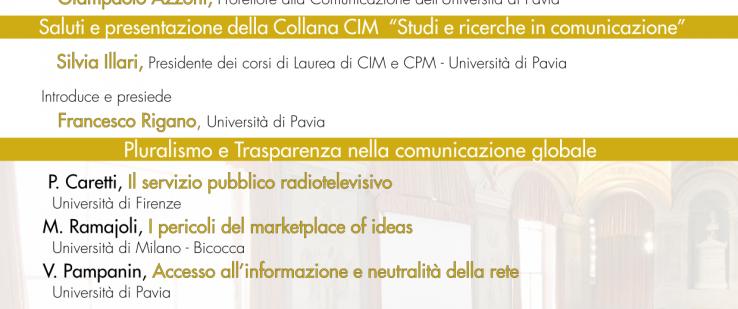 """""""La comunicazione nell'era digitale e i nuovi diritti"""" – inaugurazione anno accademico CPM"""